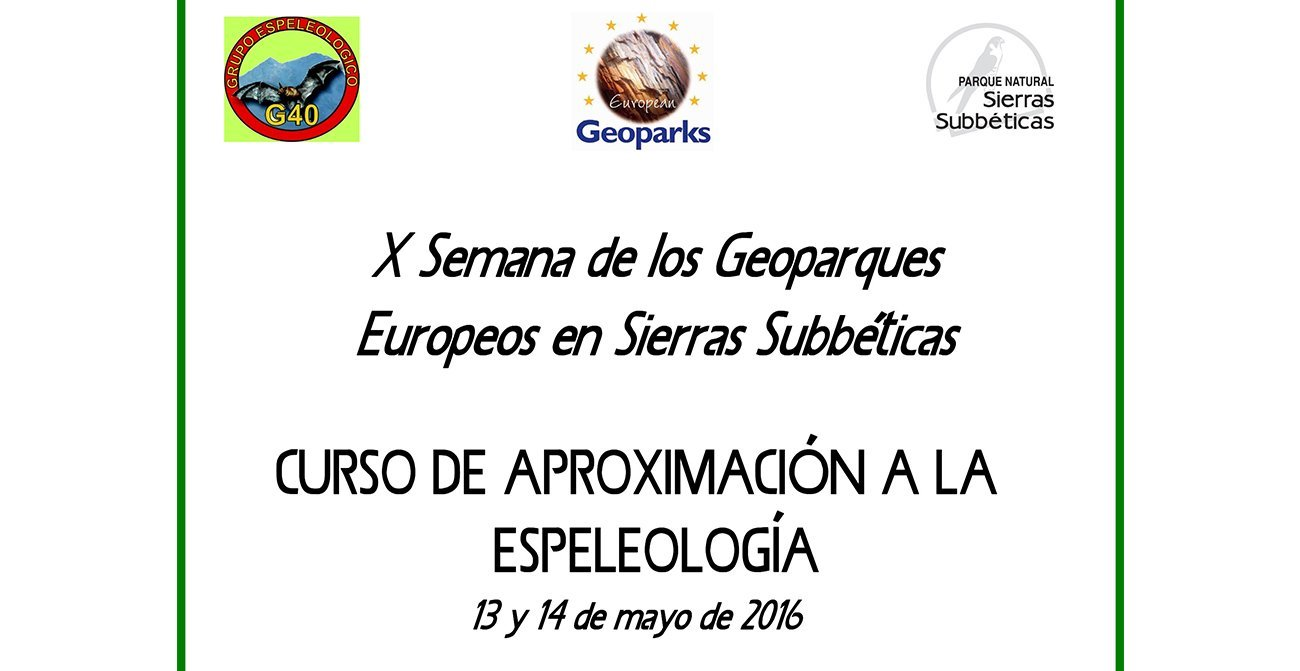 Curso Iniciación a la Espeleología