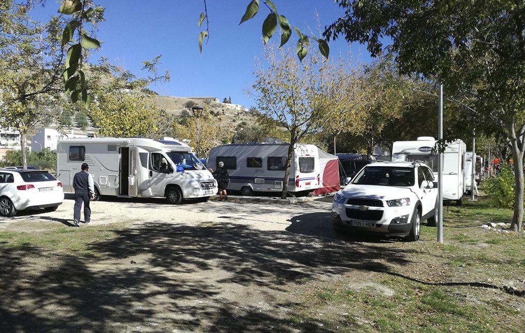 zona de caravanas